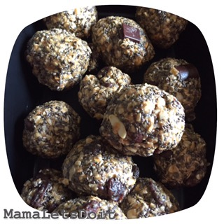Energy In a Ball: No-Bake Cookies With a Healthy Twist